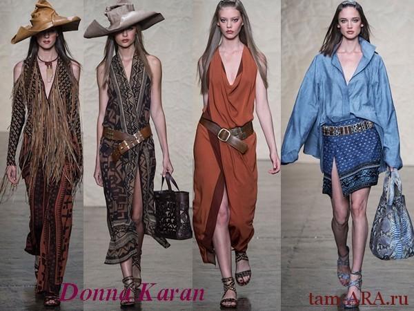 весна-лето 2013 коллекция Донна Коран