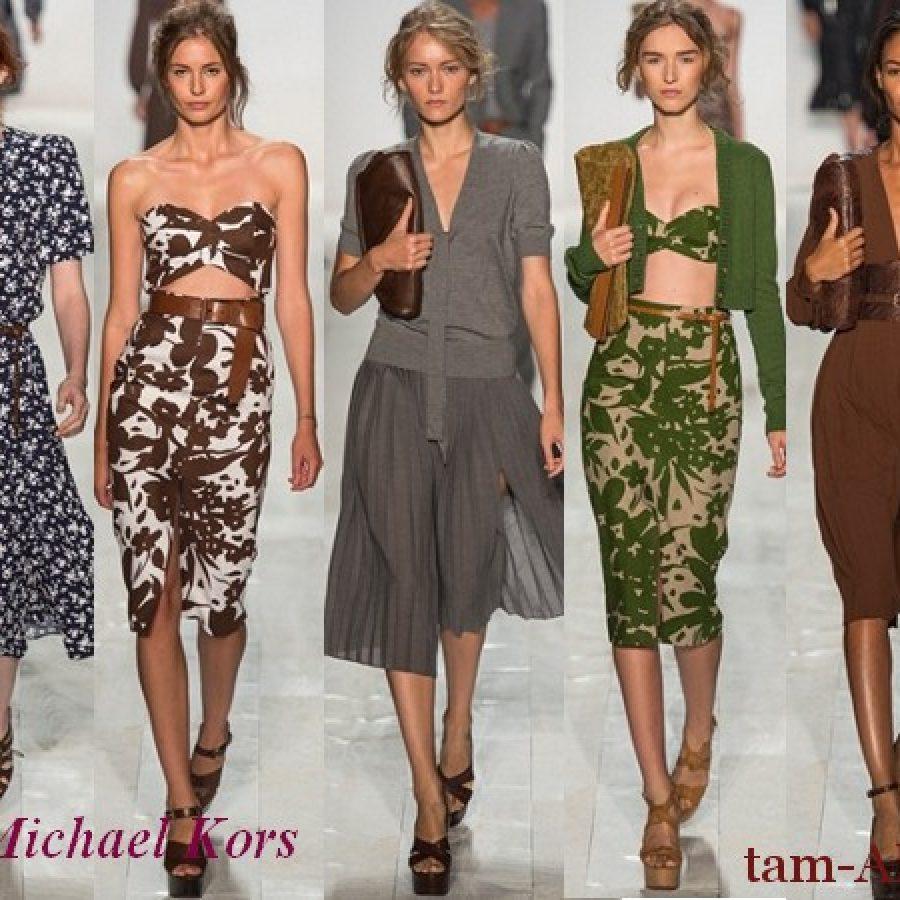 весна-лето 2013 модели коллекции Майкл Корс
