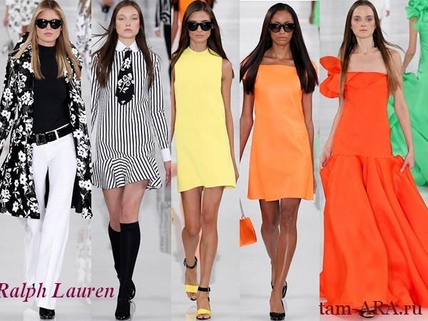 Ralph Lauren весна лето 2014 Нью-Йорк