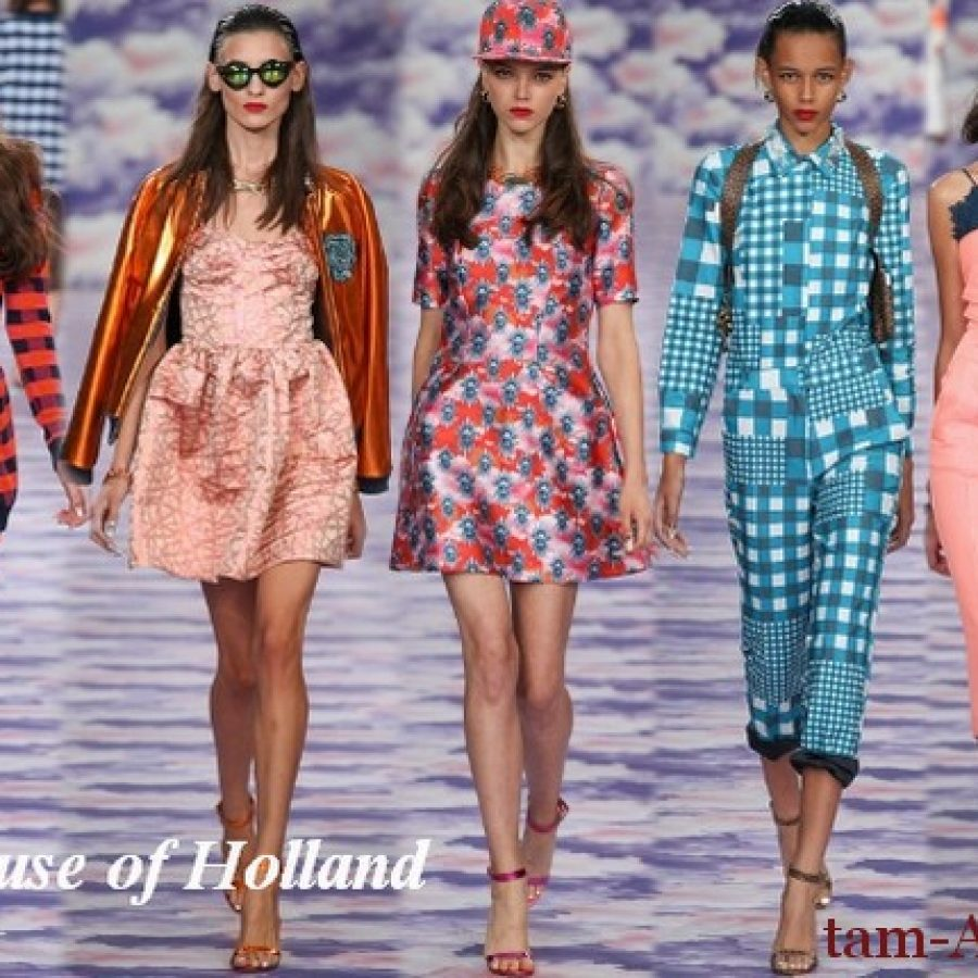 неделя моды в Лондоне сезон весна-лето 2014
