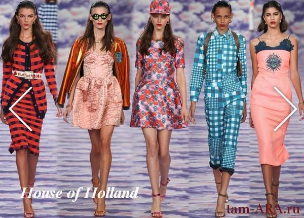 Тенденции лондонской модной Недели сезона весна/лето 2014: ода вечной юности