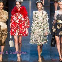 Dolce & Gabbana Основные тренды сезона весна-лето 2014