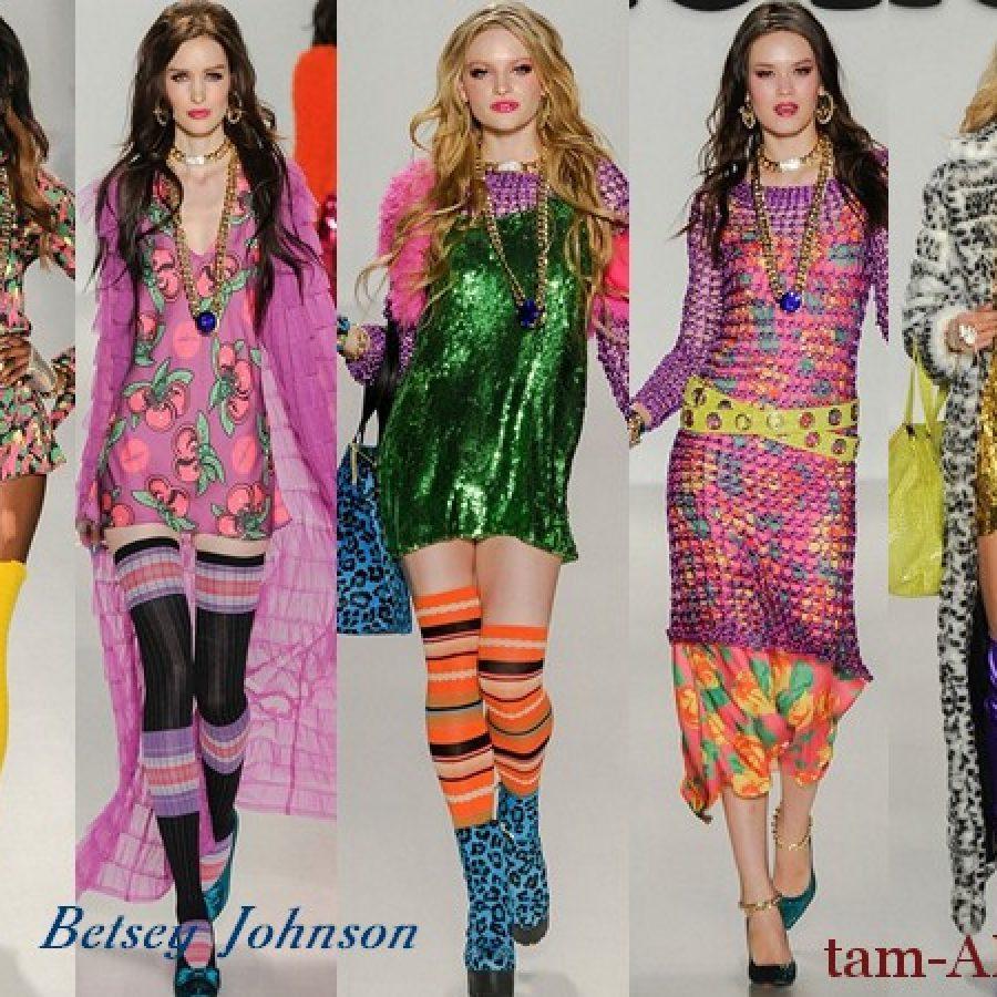 Дизайнер одежды Betsey Johnson осень-зима 2014-15