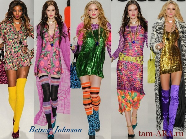 Дизайнер одежды Betsey Johnson осень-зима 2014-15