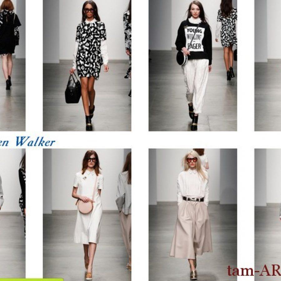 Karen Walker неделя моды в Нью-Йорке