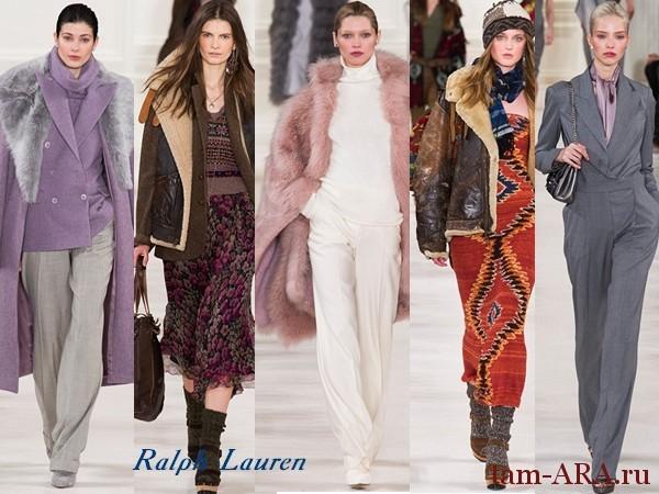 Дизайнер одежды Ralph Lauren осень-зима 2014-15