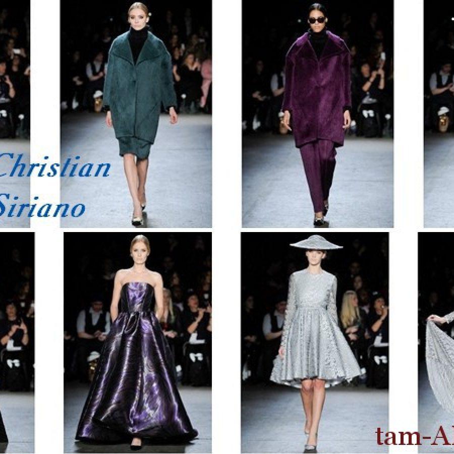 Дизайнер Кристиан Сириано/ Christian Siriano и его коллекция на Неделе моды в Нью-Йорке
