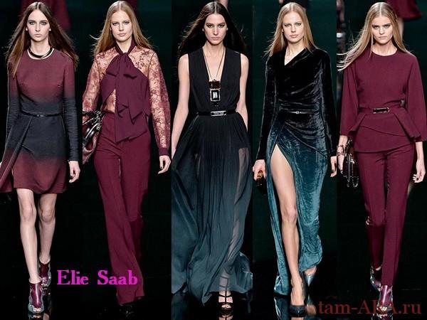 Elie Saab Неделя Моды в Париже
