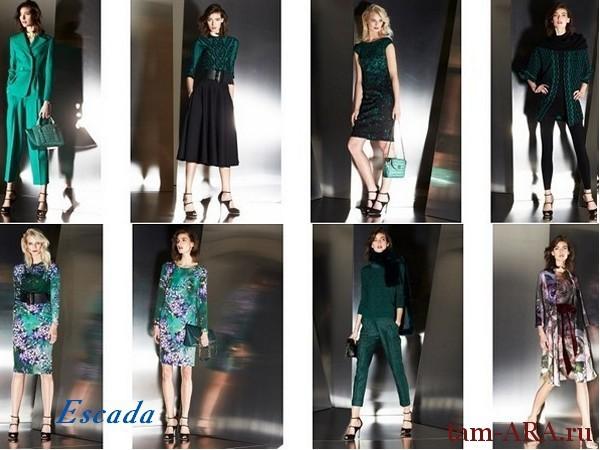 Эскада/ Escada на подиуме нью-йоркской недели моды