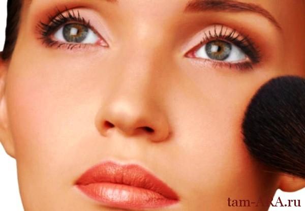 косметика, тени, макияж за пять минут