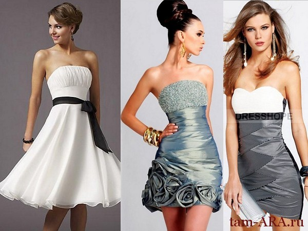 нарядные платья для выпускного вечера