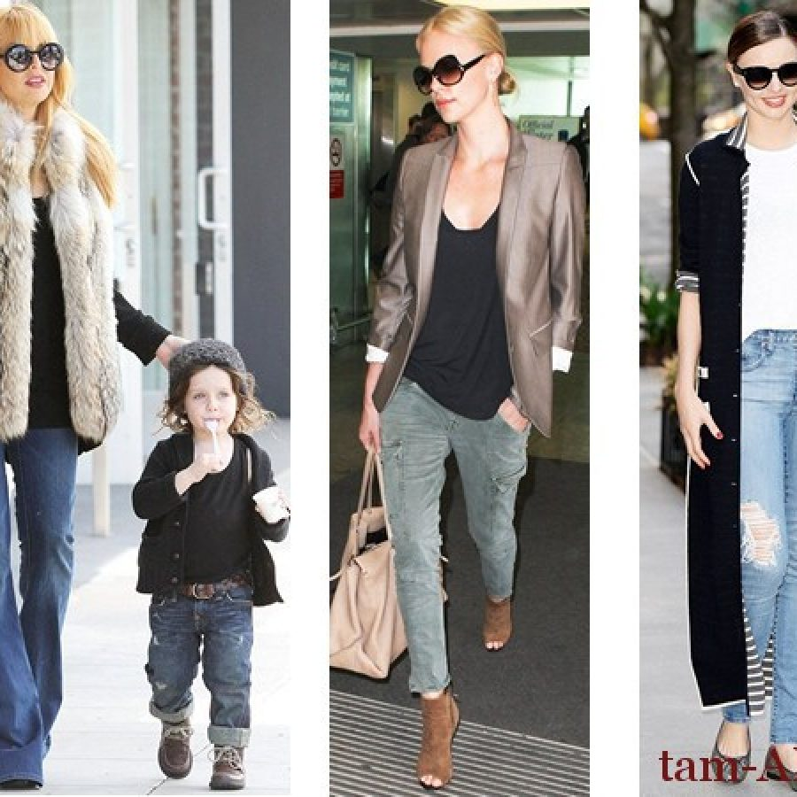 Какие джинсовые бренды обожают знаменитости