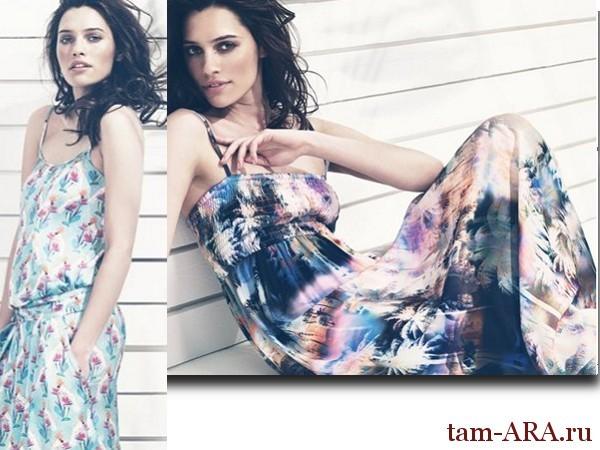 сарафаны, модный гардероб для современной дачницы