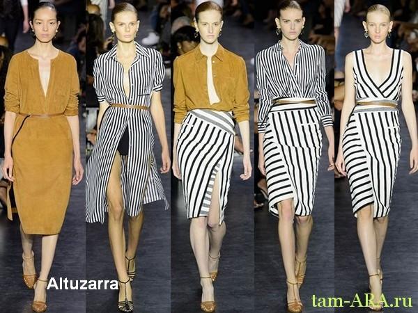 Altuzarra Лучшие показы Недели моды в Нью-Йорке на весну лето 2015