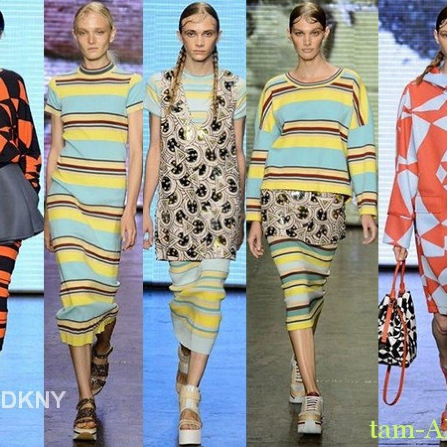 DKNY Лучшие показы Недели моды в Нью-Йорке на весну лето 2015