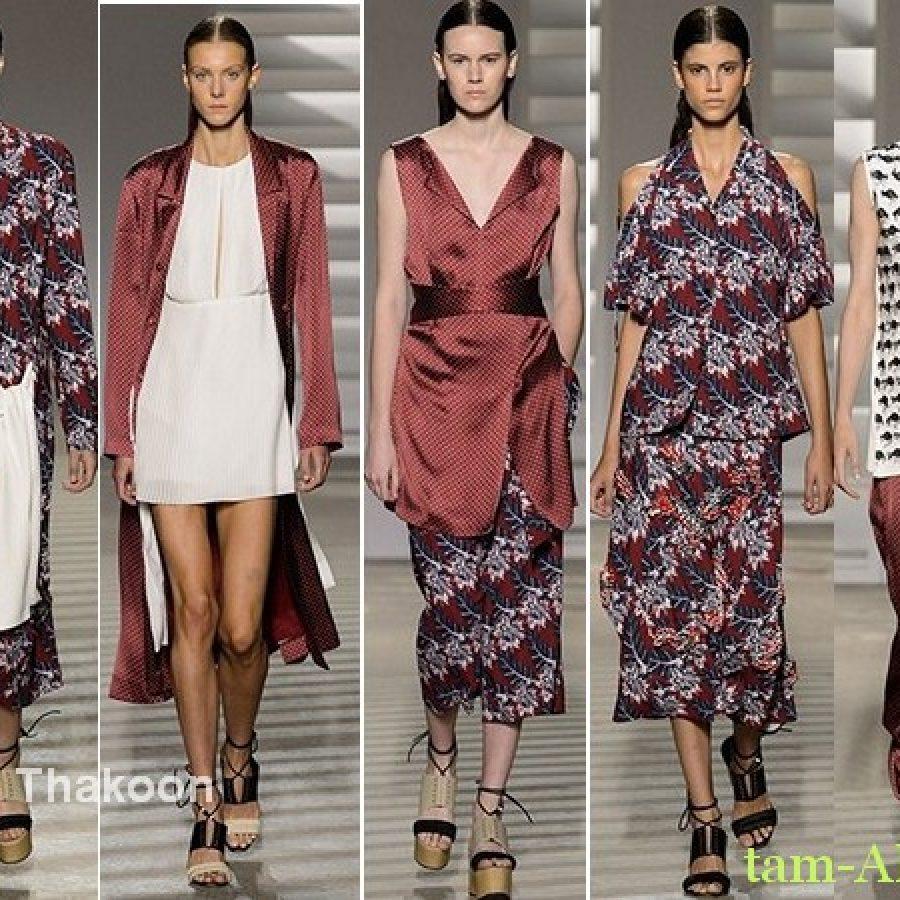Thakoon Лучшие показы Недели моды в Нью-Йорке на весну лето 2015