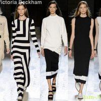 Victoria Beckham Лучшие показы Недели моды в Нью-Йорке на весну лето 2015