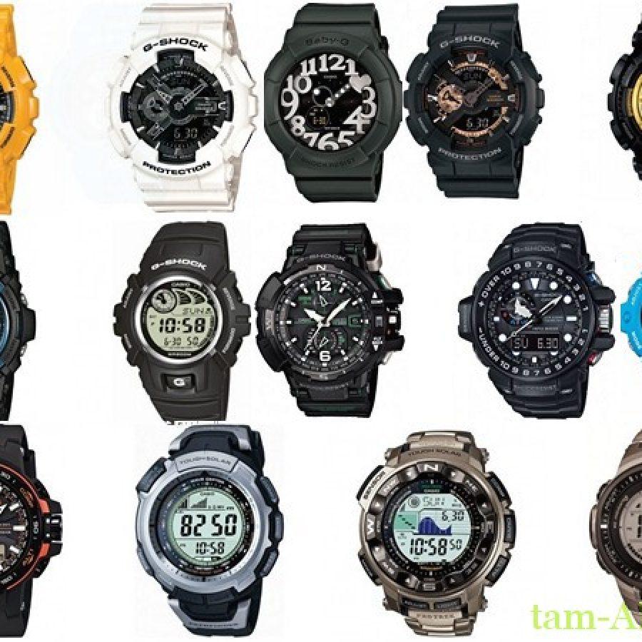 Часы Casio – сочетание надежности, стильности и функциональности