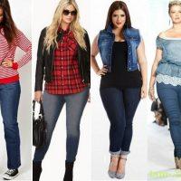 как выбрать джинсы для толстушек