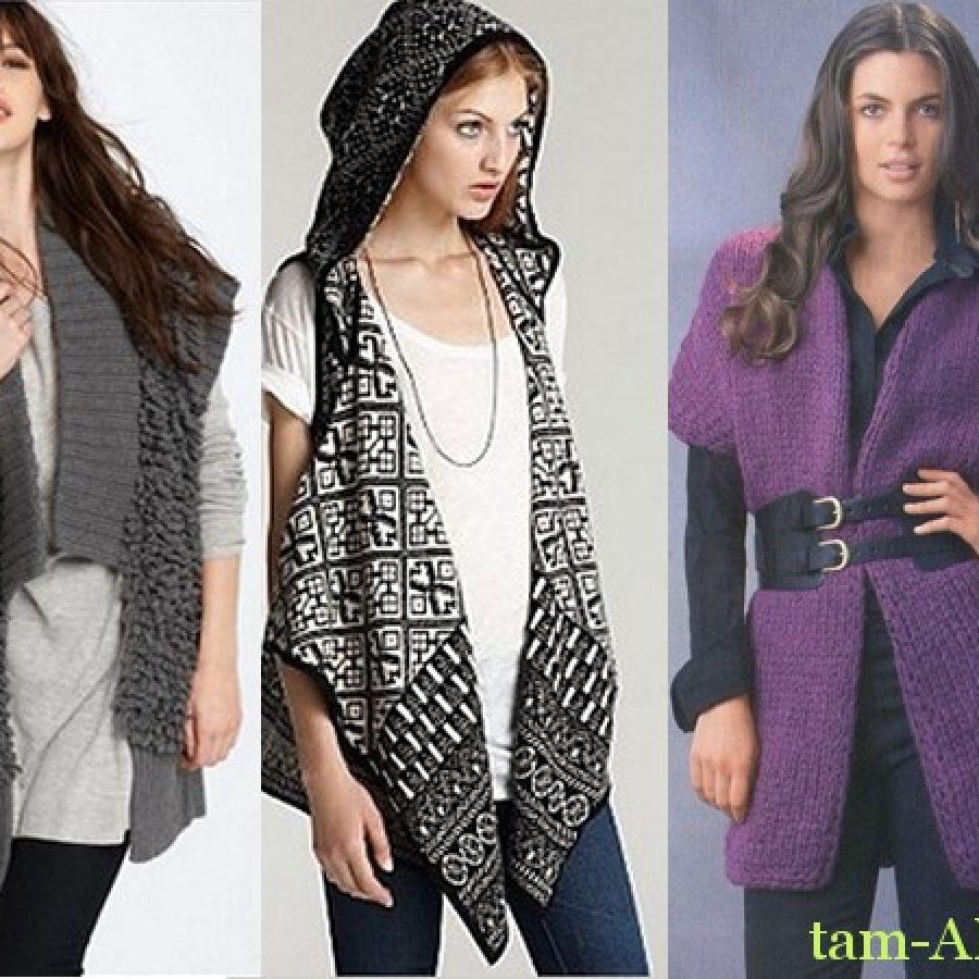 Модный удлиненный жилет: как и с чем носить
