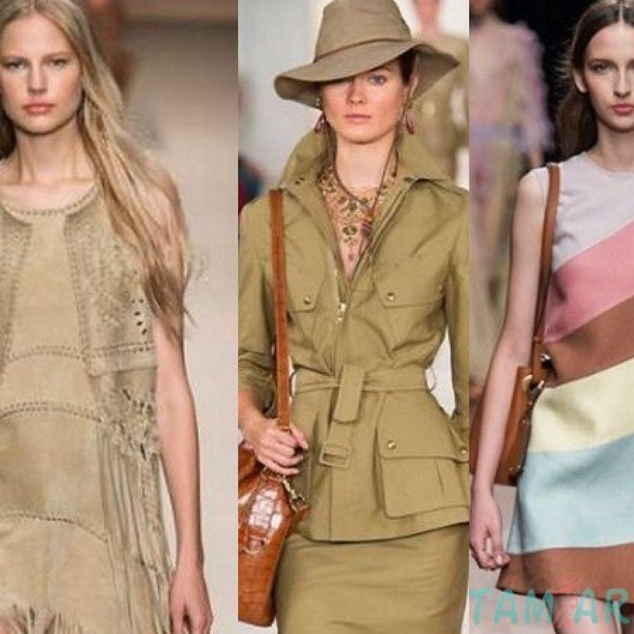 4 основные модные тенденции на весну и лето 2015