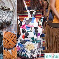 Модные сумки сезона весна -лето 2015 с бахромой