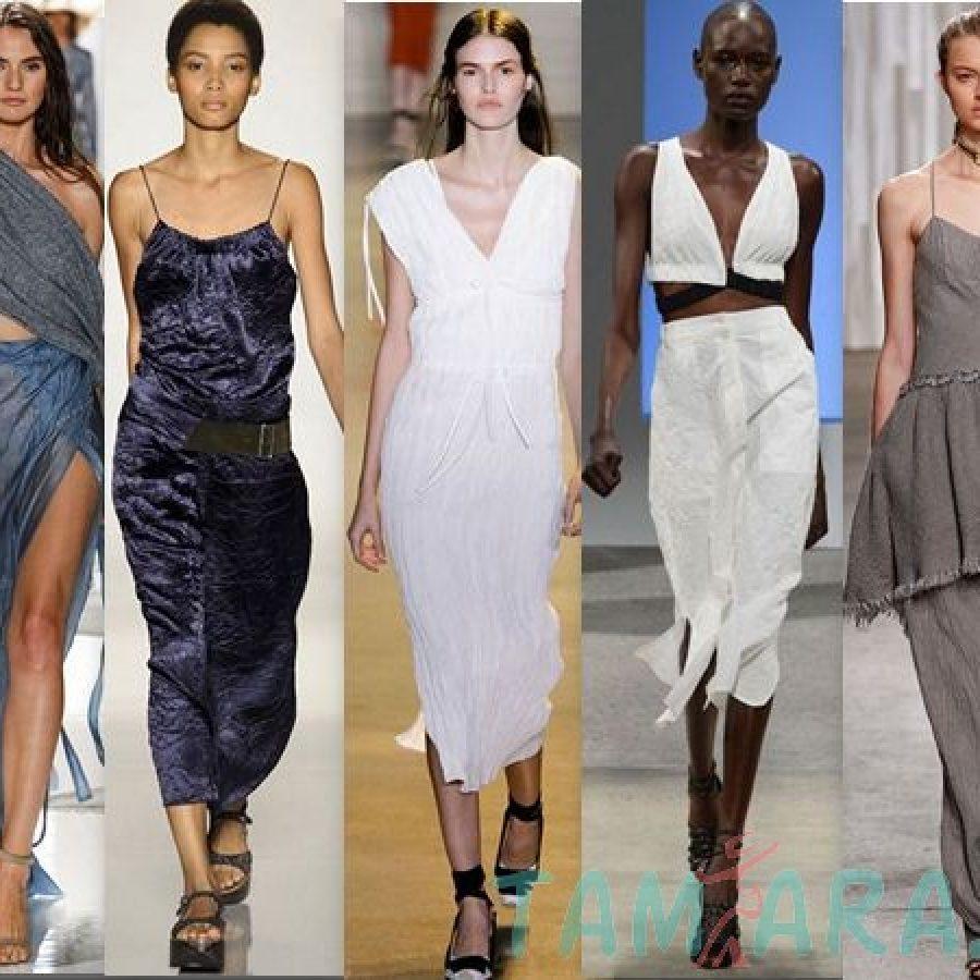 тенденции сезона Неделя моды в Нью-Йорке, весна-лето 2016