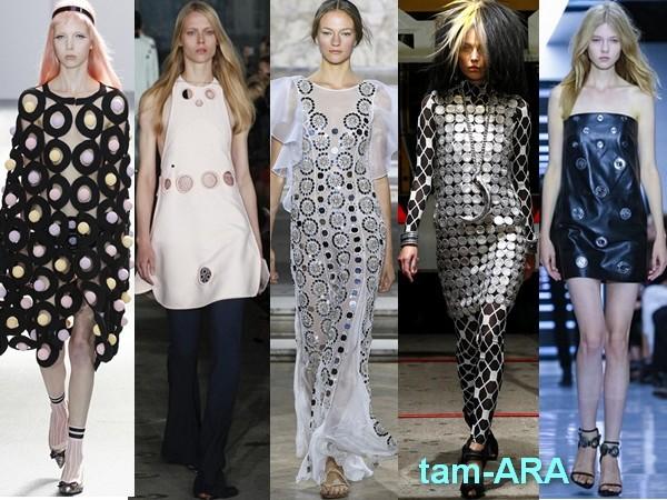 тренды Лондонской недели моды весна-лето