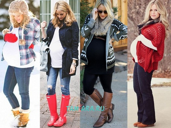 Что беременной носить зимой 28
