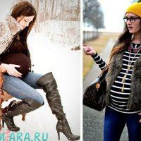 Основные правила при выборы зимней одежды для беременных