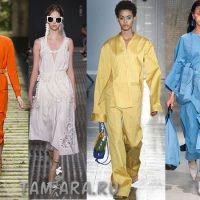 модные цвета для сезона весна-лето 2017 года