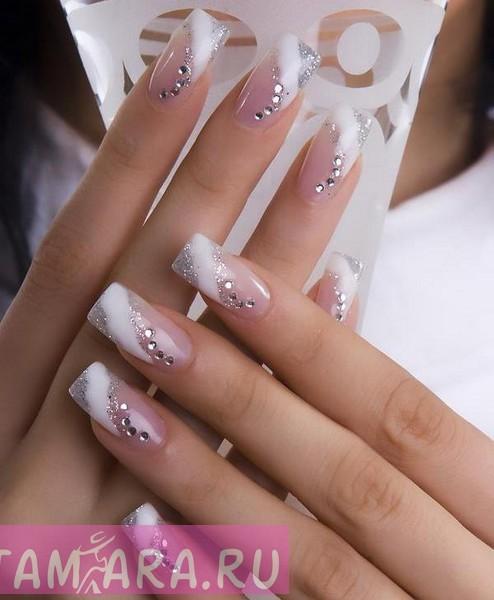 Идеи дизайна гламурных ногтей для особых случаев