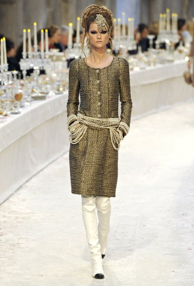 Коллекция Лагерфельда Париж — Бомбей, для Chanel