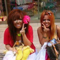 японская молодежная мода - стиль гангуро