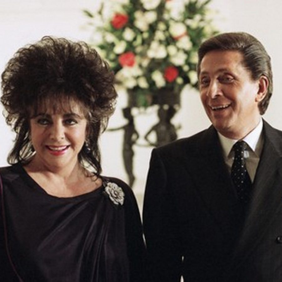 Валентино и Элизабет Тейлор