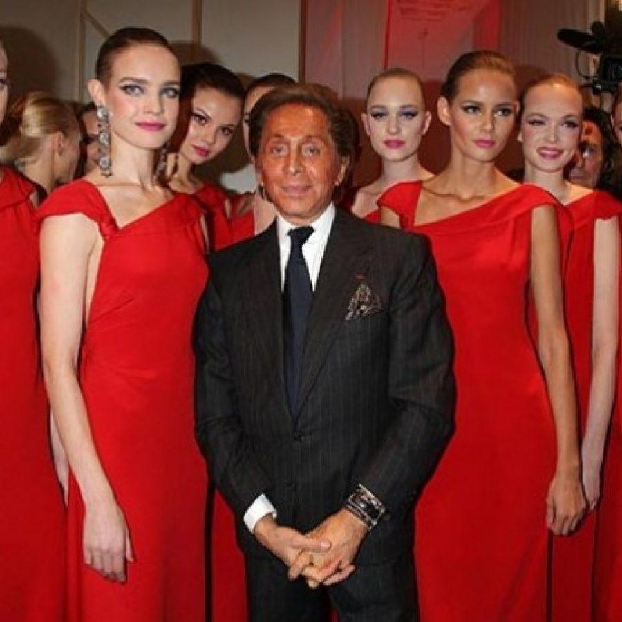 Итальянский дизайнер одежды Valentino