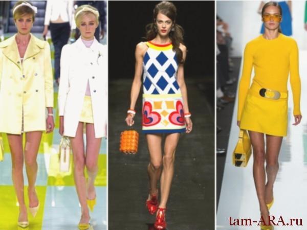 История модной женской юбки