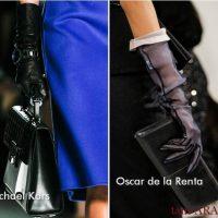длинные перчатки стильно и элегантно