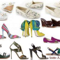 итальянская модная женская обувь