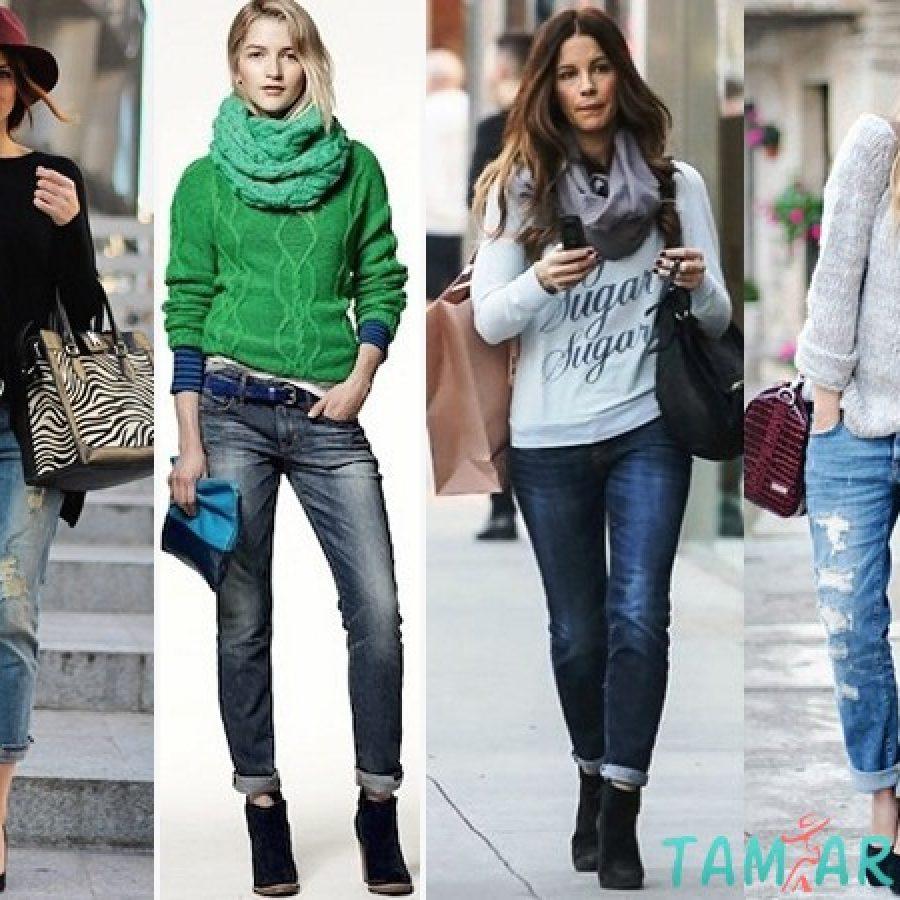 Свитер и джинсы: простое решение для стильных образов