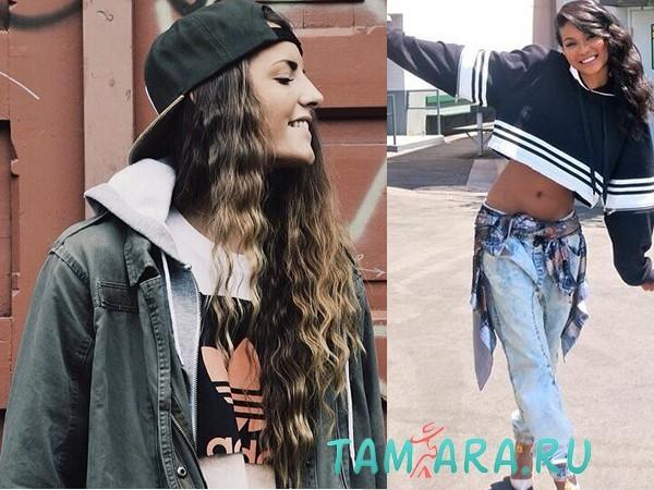 Одежда стиля хип-хоп